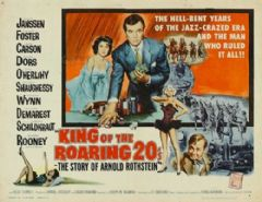 King of the Roaring 20's / The Big Bankroll 1961 DVD - David Janssen